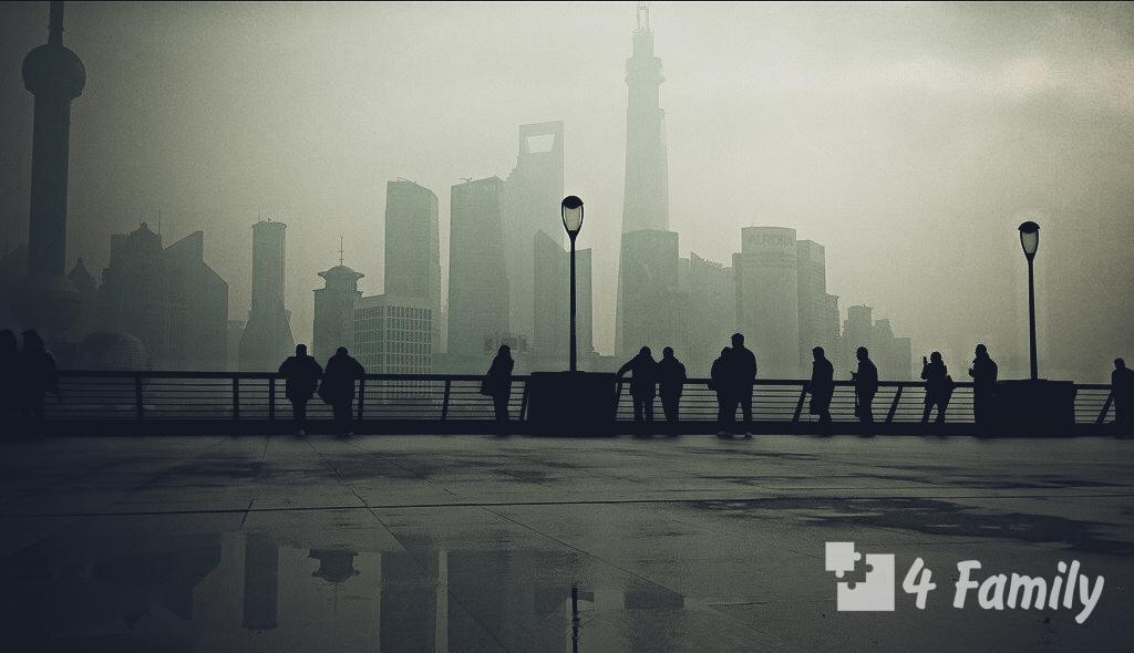 Набережная Вайтань в Шанхае
