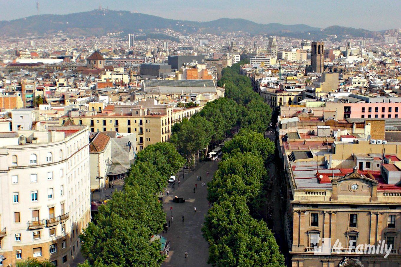 Рамбла (La Rambla) в Барселоне