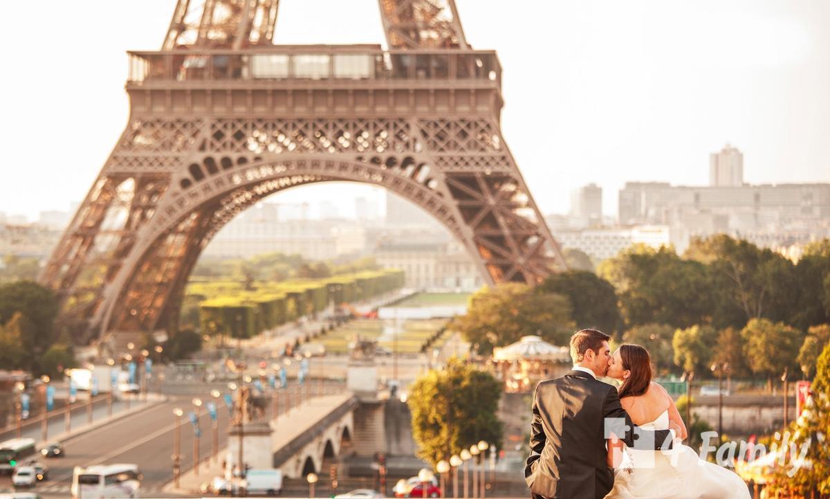 свадебный тур во Францию