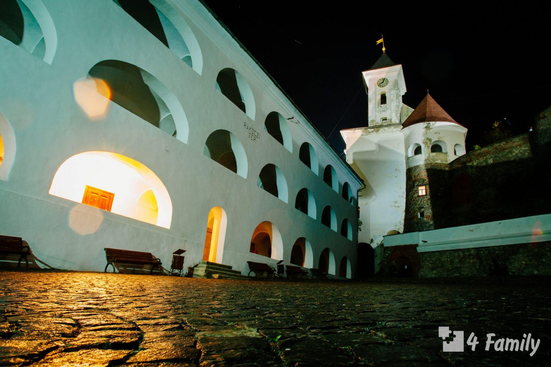 Туристическая Украина. Замок Паланок