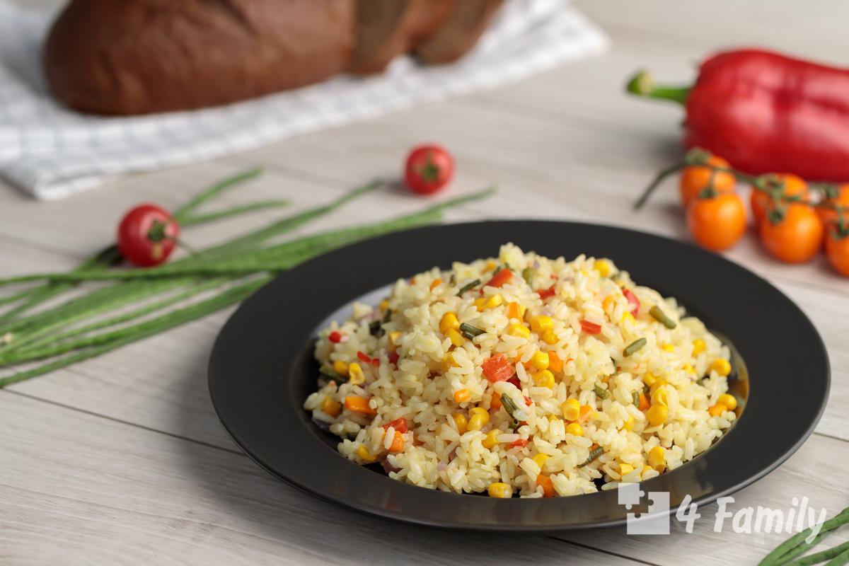 Простые и вкусные рецепты из риса