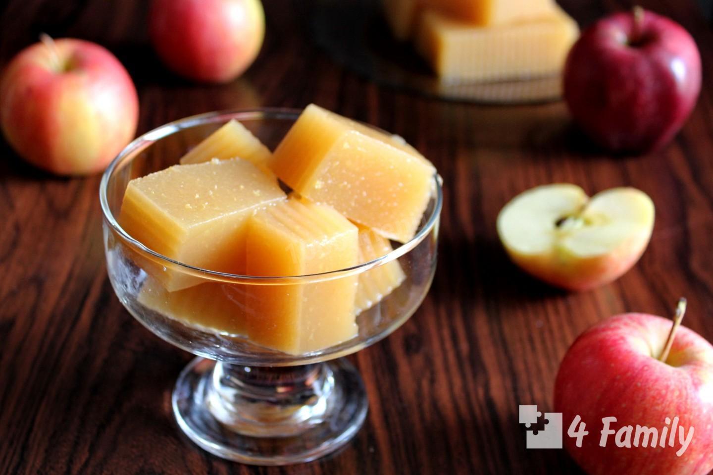 Фото - яблочный мармелад в домашних условиях