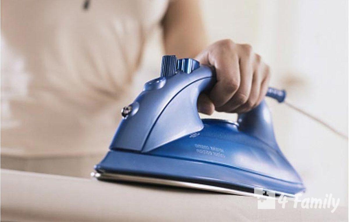 Как почистить утюг