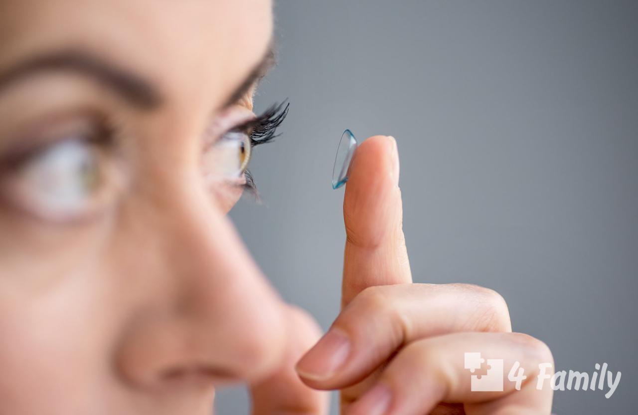 Как ухаживать за линзами для глаз