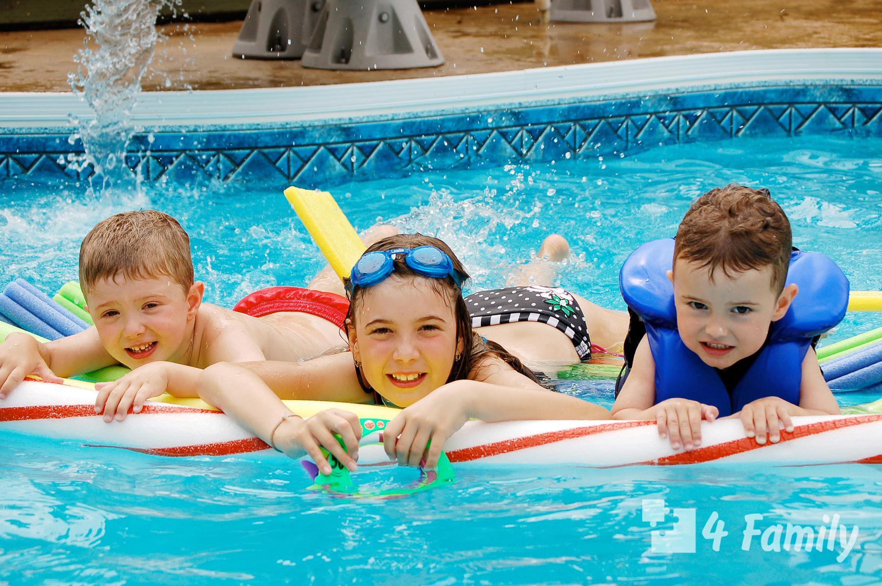 Фото. Какой бассейн выбрать каркасный или надувной