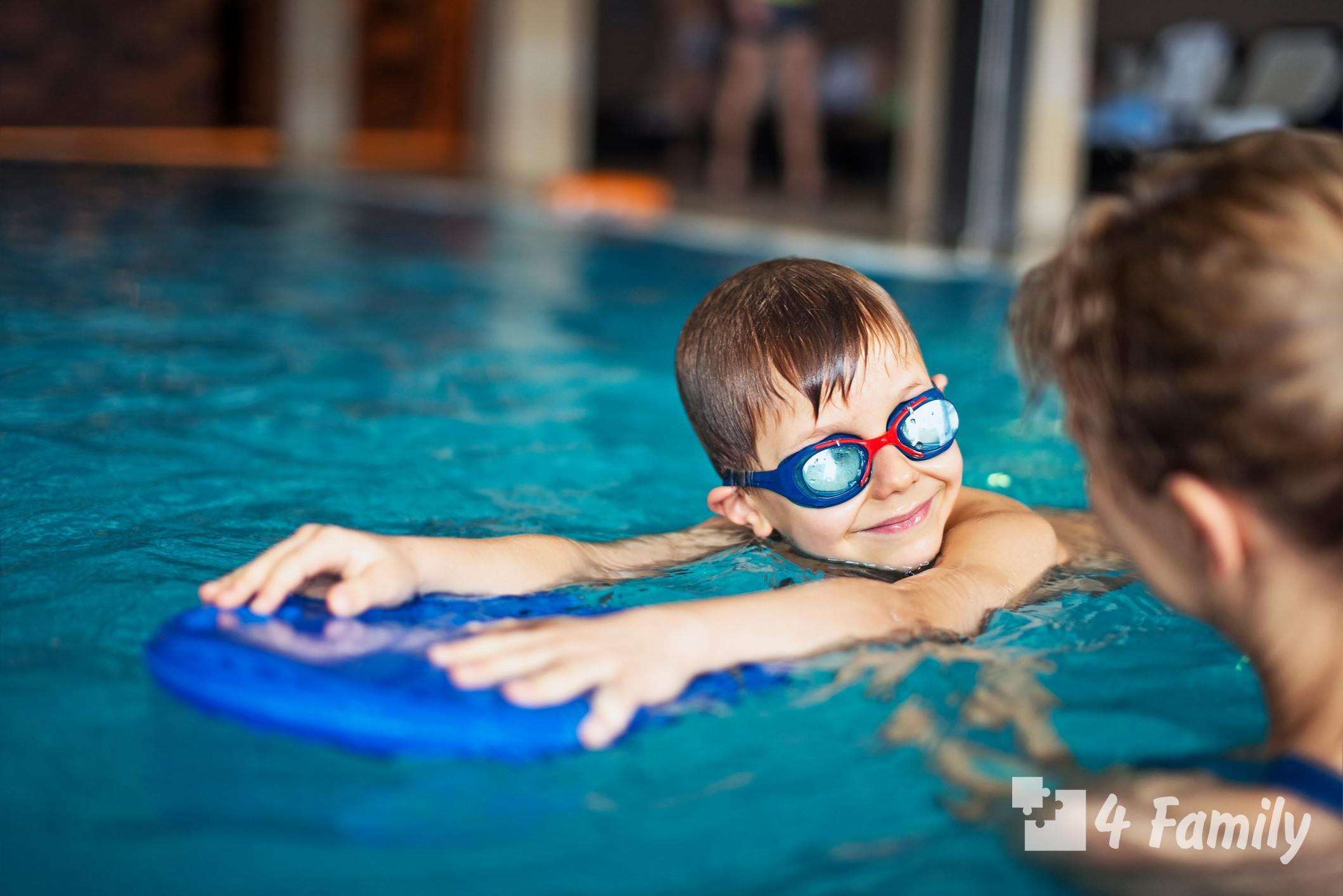 Что нужно для бассейна ребенку