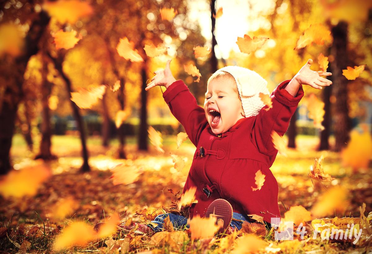 Фото. Знакомим ребенка с осенью