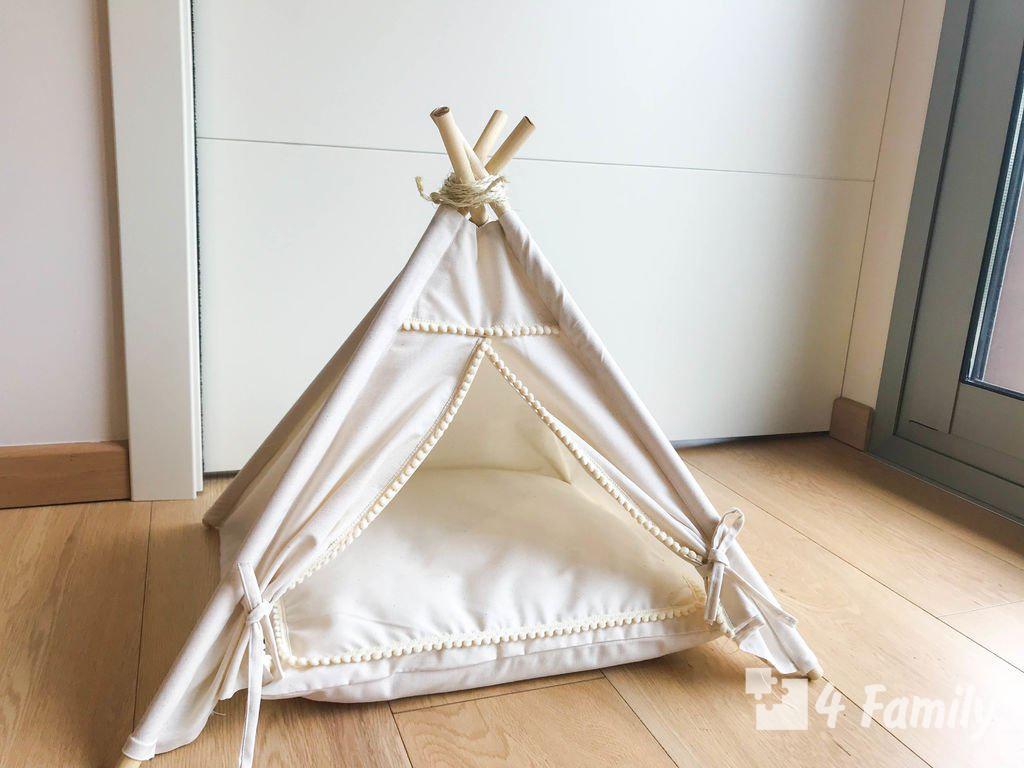 Фото. Как сделать палатку для ребенка своими руками