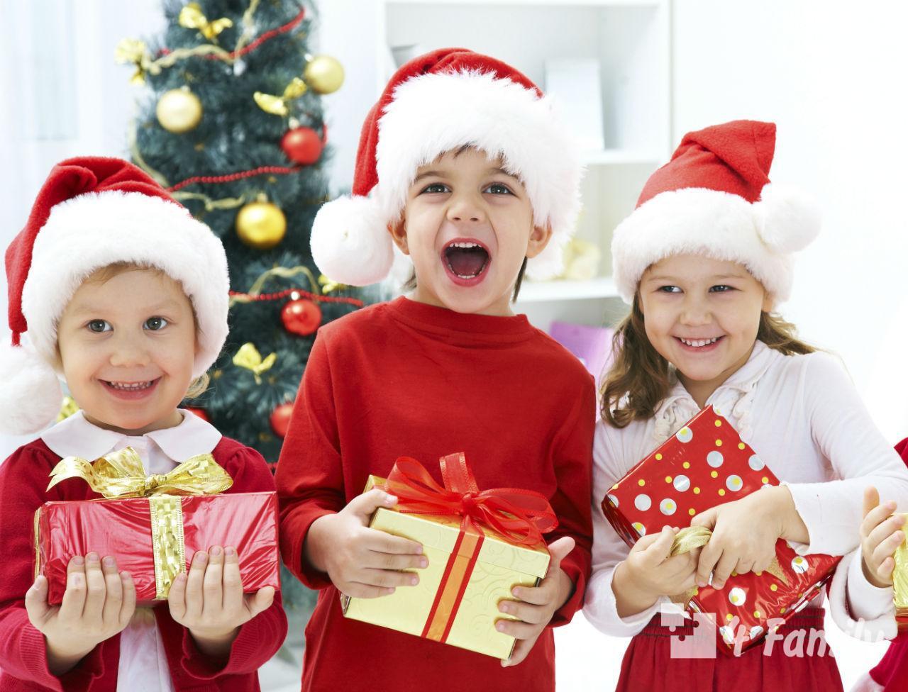 Фото. Новогодние конкурсы для детей