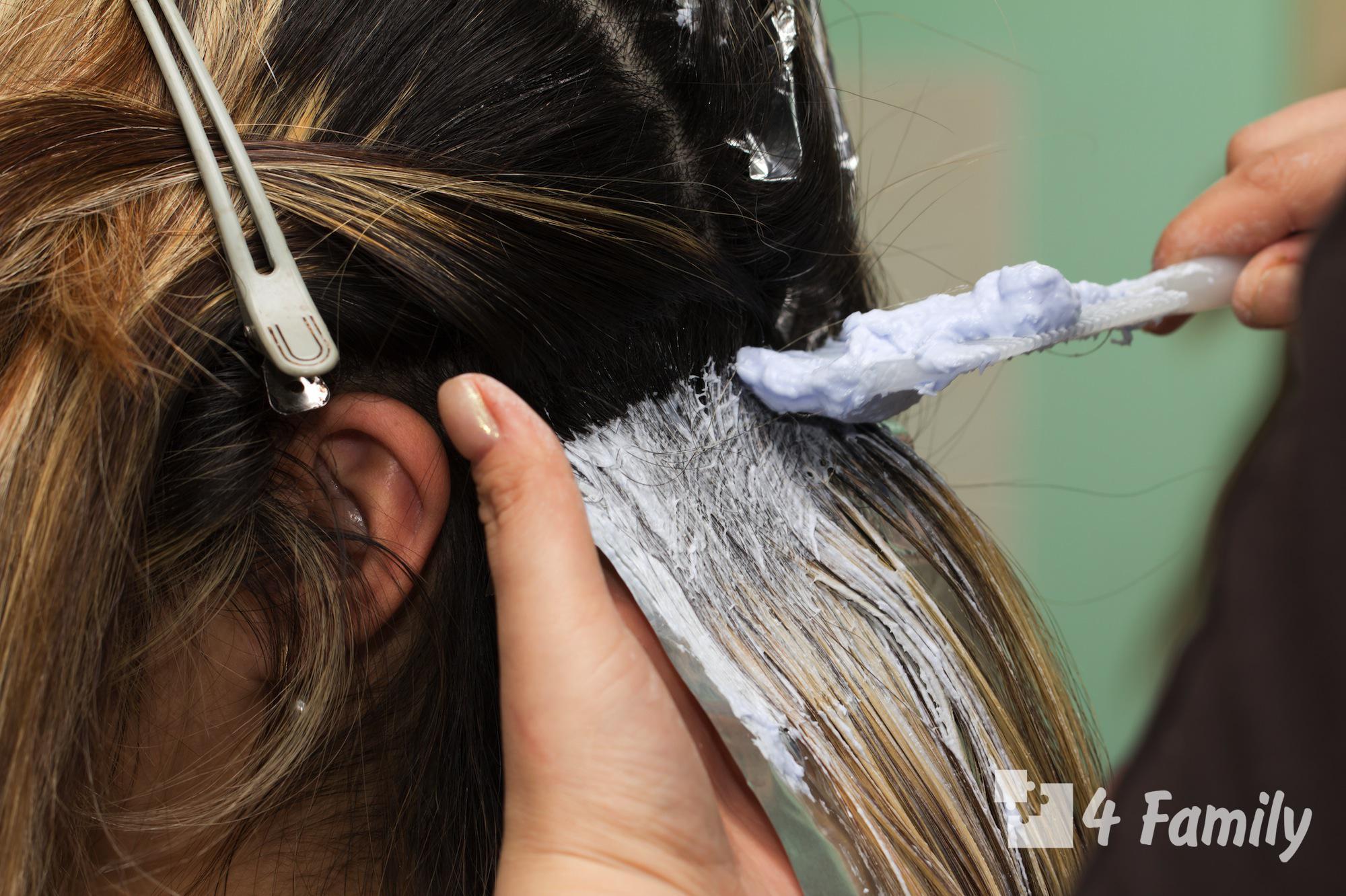 4family Как сделать в домашних условиях мелирование волос