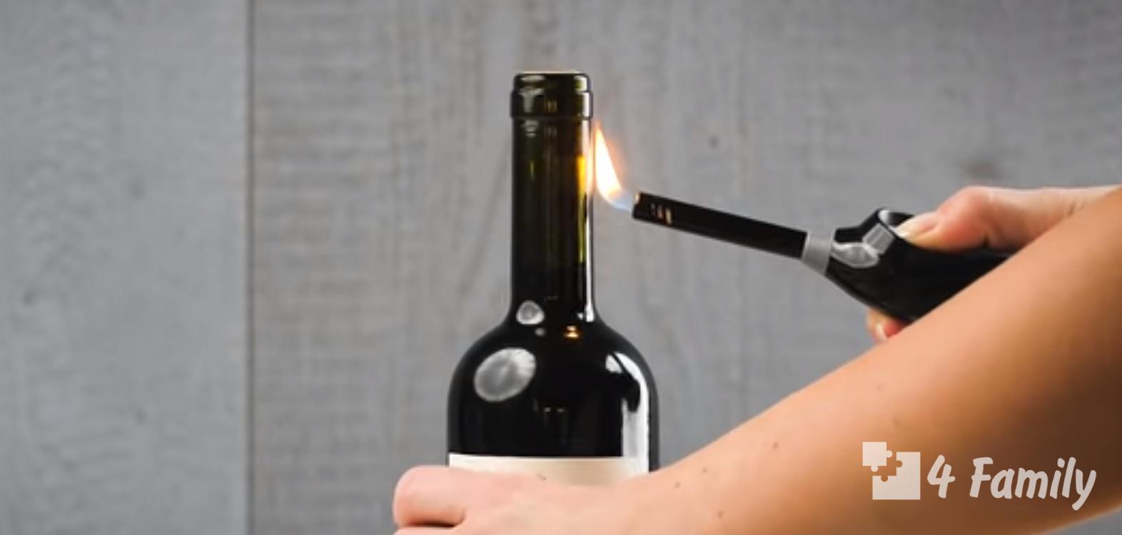 4family Лайфхак: как открыть вино без штопора