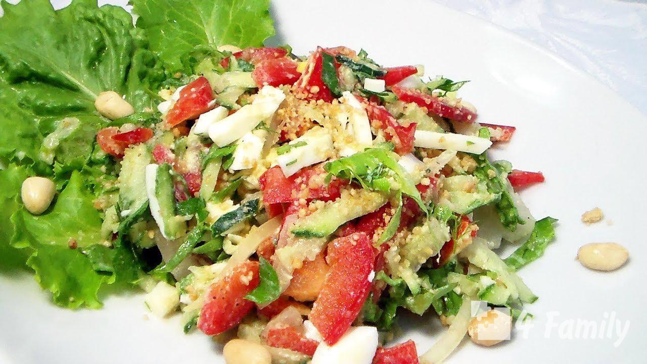 4family Как приготовить салат Весна