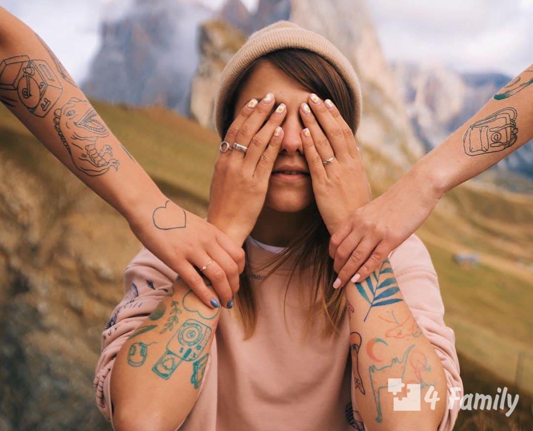 Лайфхак, как сделать татуировку