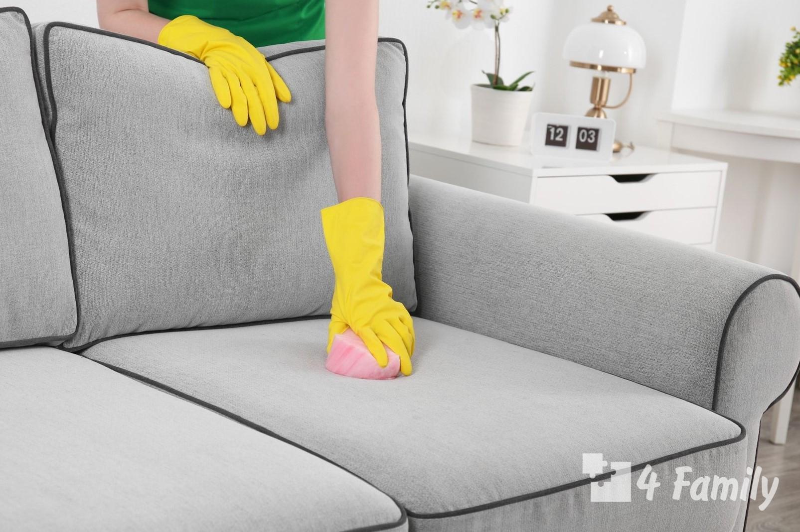 4family Как почистить диван от грязи и запаха в домашних условиях
