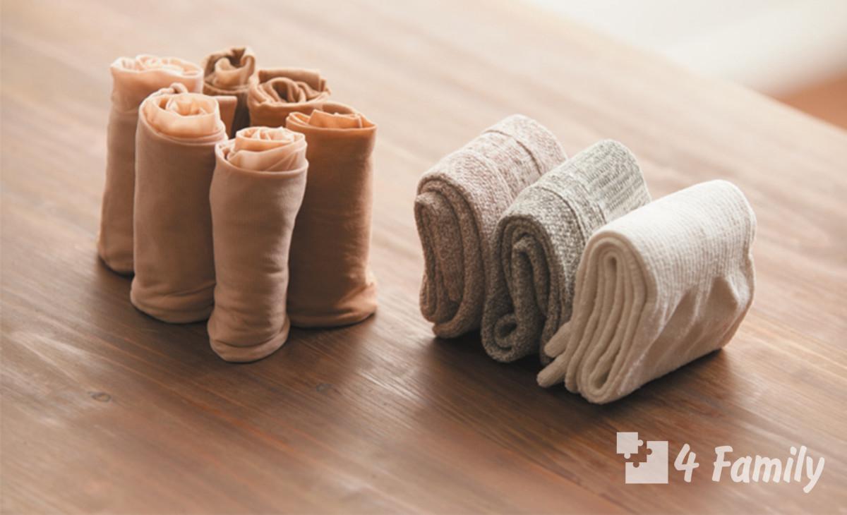 Фото, Как из капроновых носков сделать следки