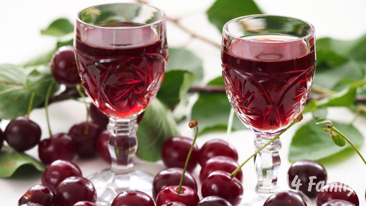 Как сделать вишневую настойку в домашних условиях