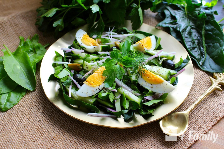 Какой салат можно приготовить из щавеля
