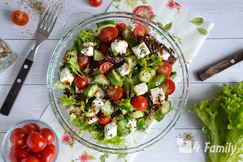 4family Какой салат можно приготовить с сыром фетакса