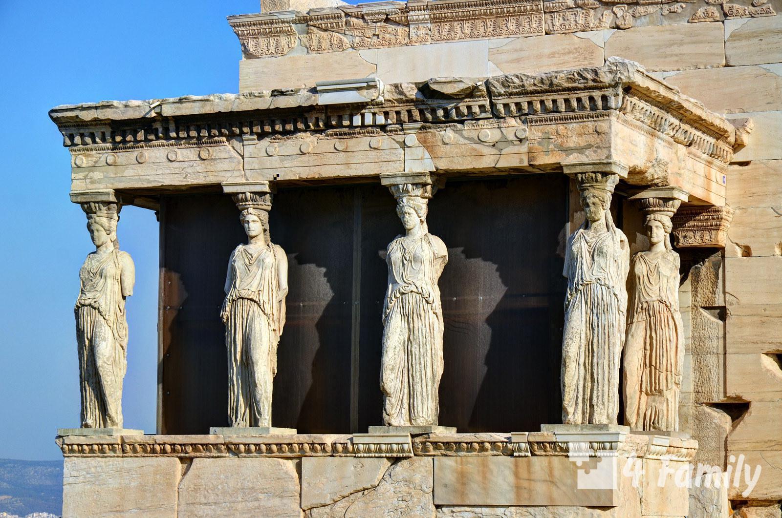 4family Афинский акрополь, Афины