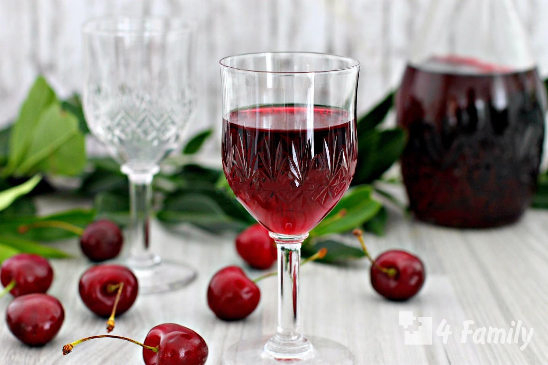 Фото. Как сделать вишневую настойку в домашних условиях