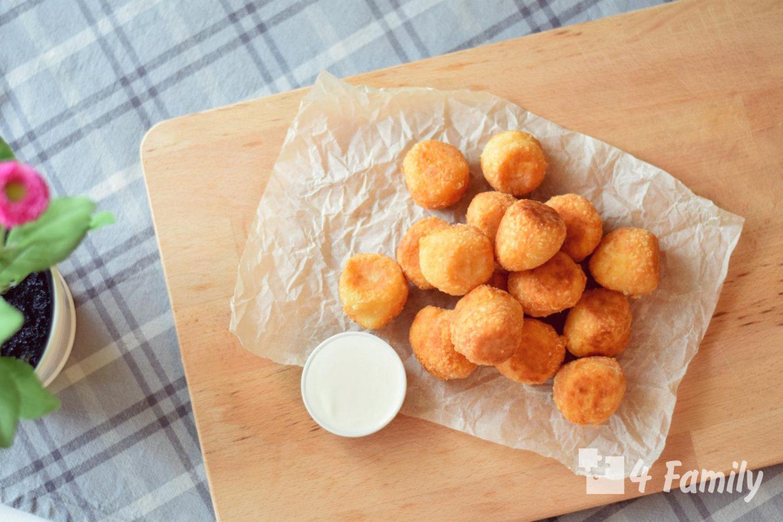 4family Как сделать сырные шарики в домашних условиях