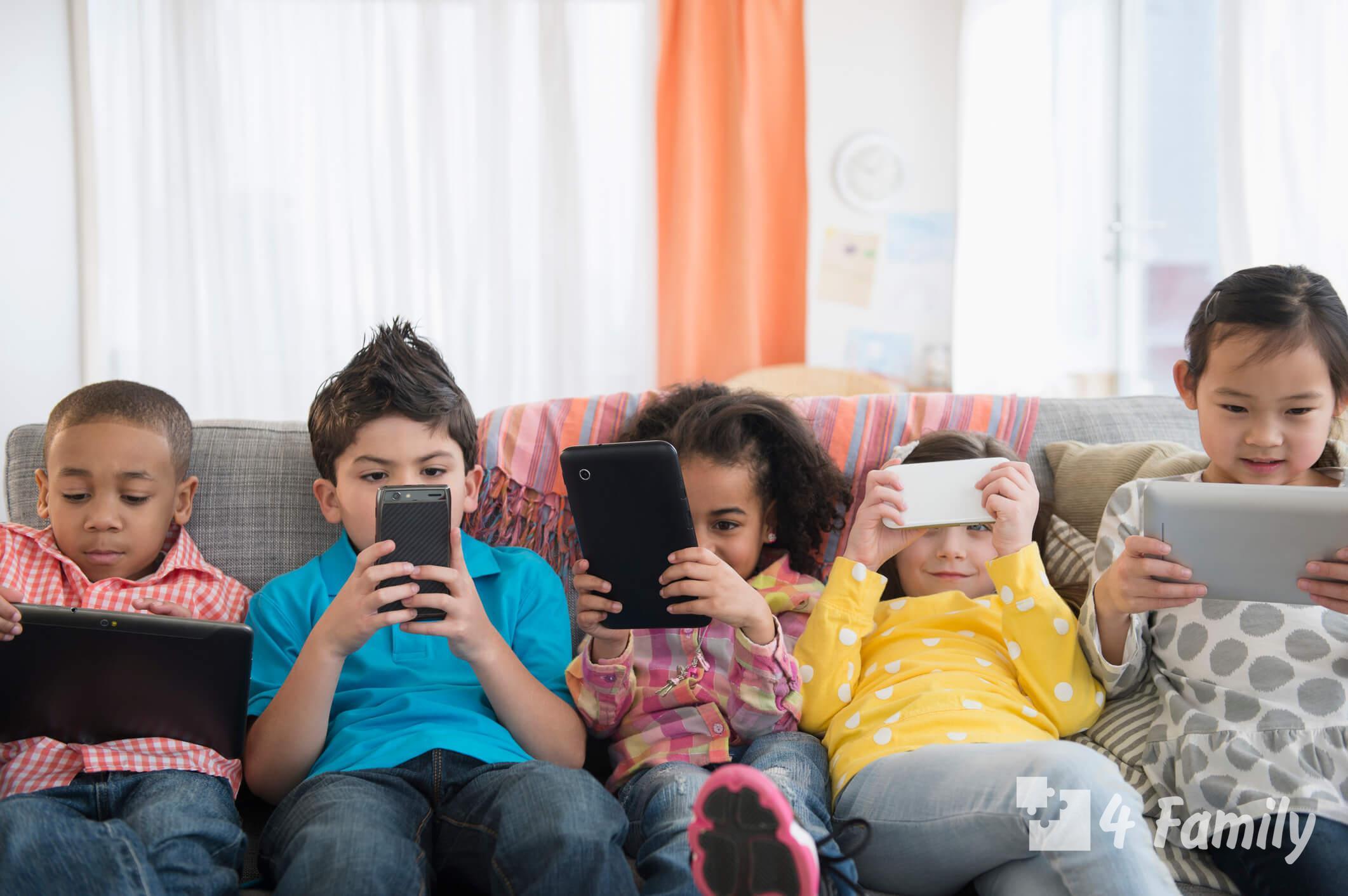 4family Польза гаджетов для детей