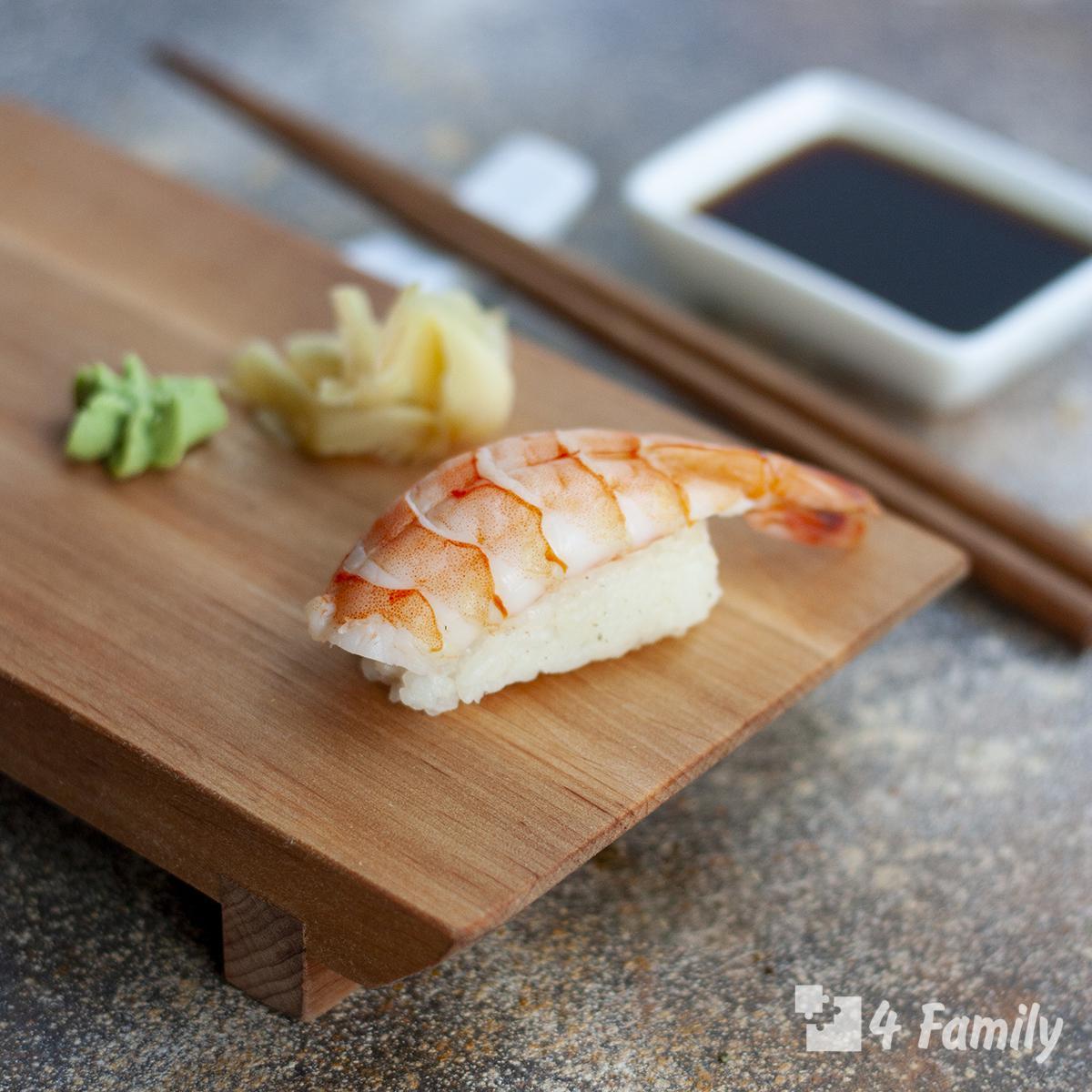 4family Как сделать суши в домашних условиях