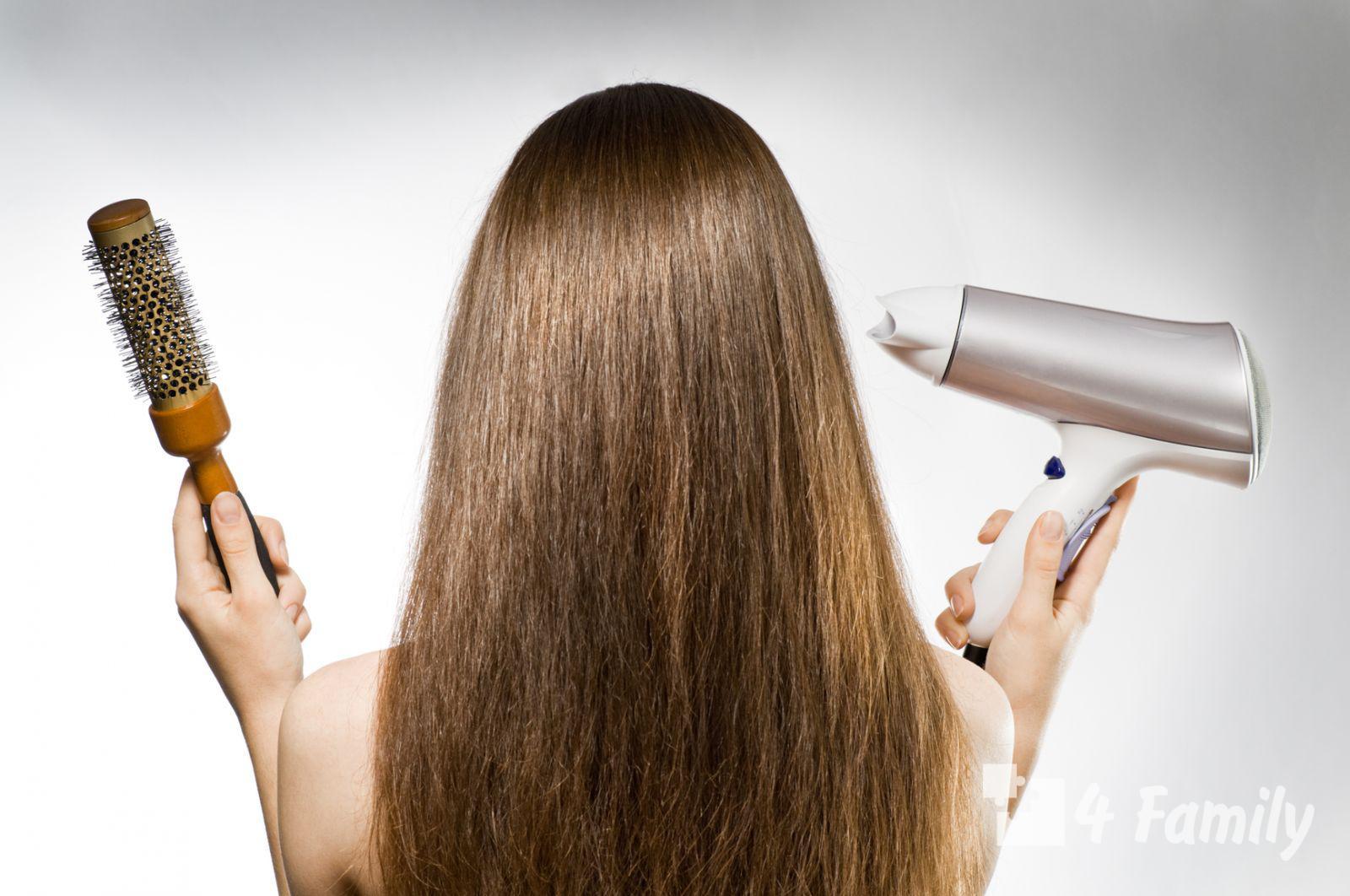 Как сделать самой укладку волос дома