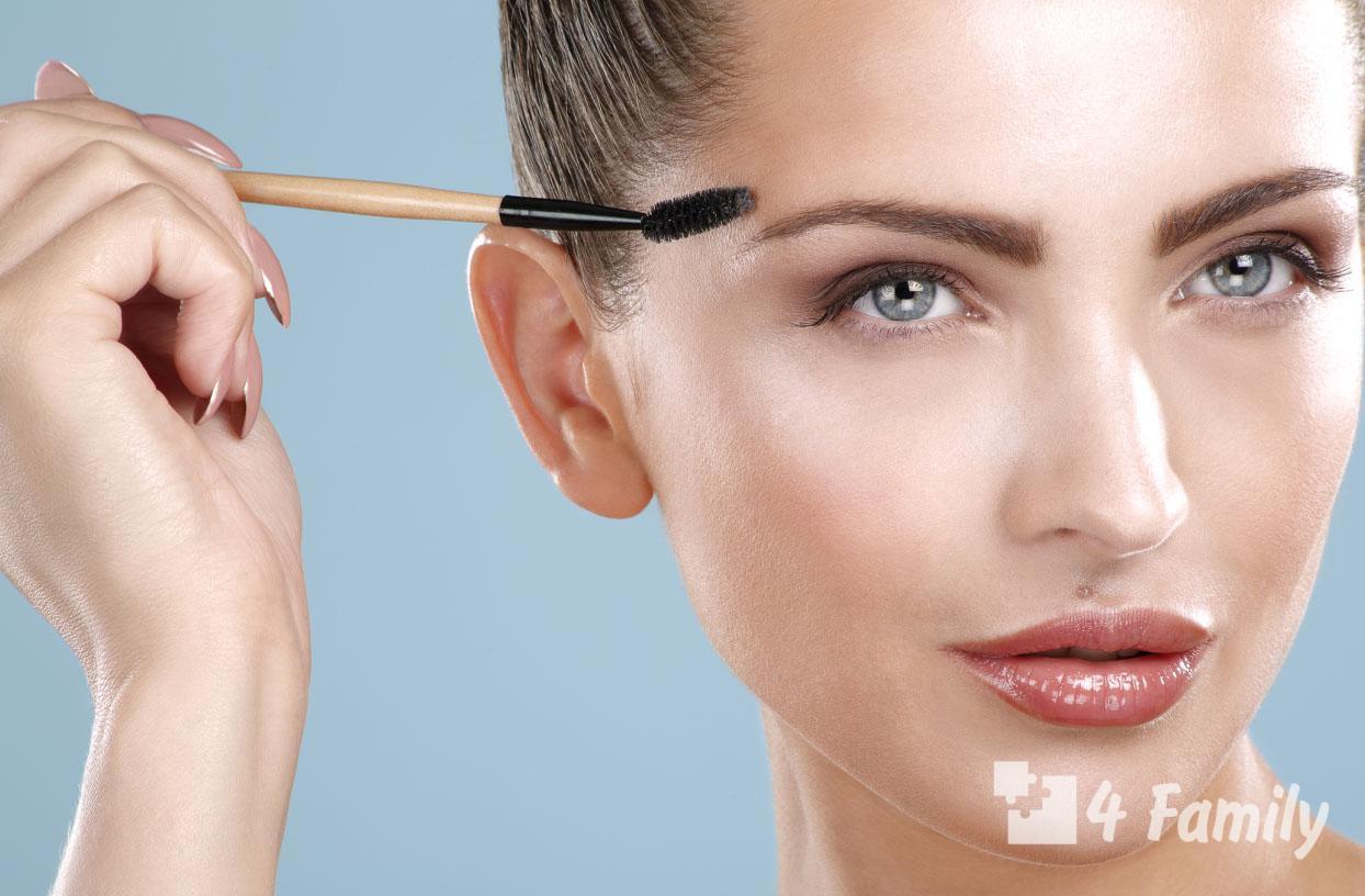 Как сделать красивые брови дома самой