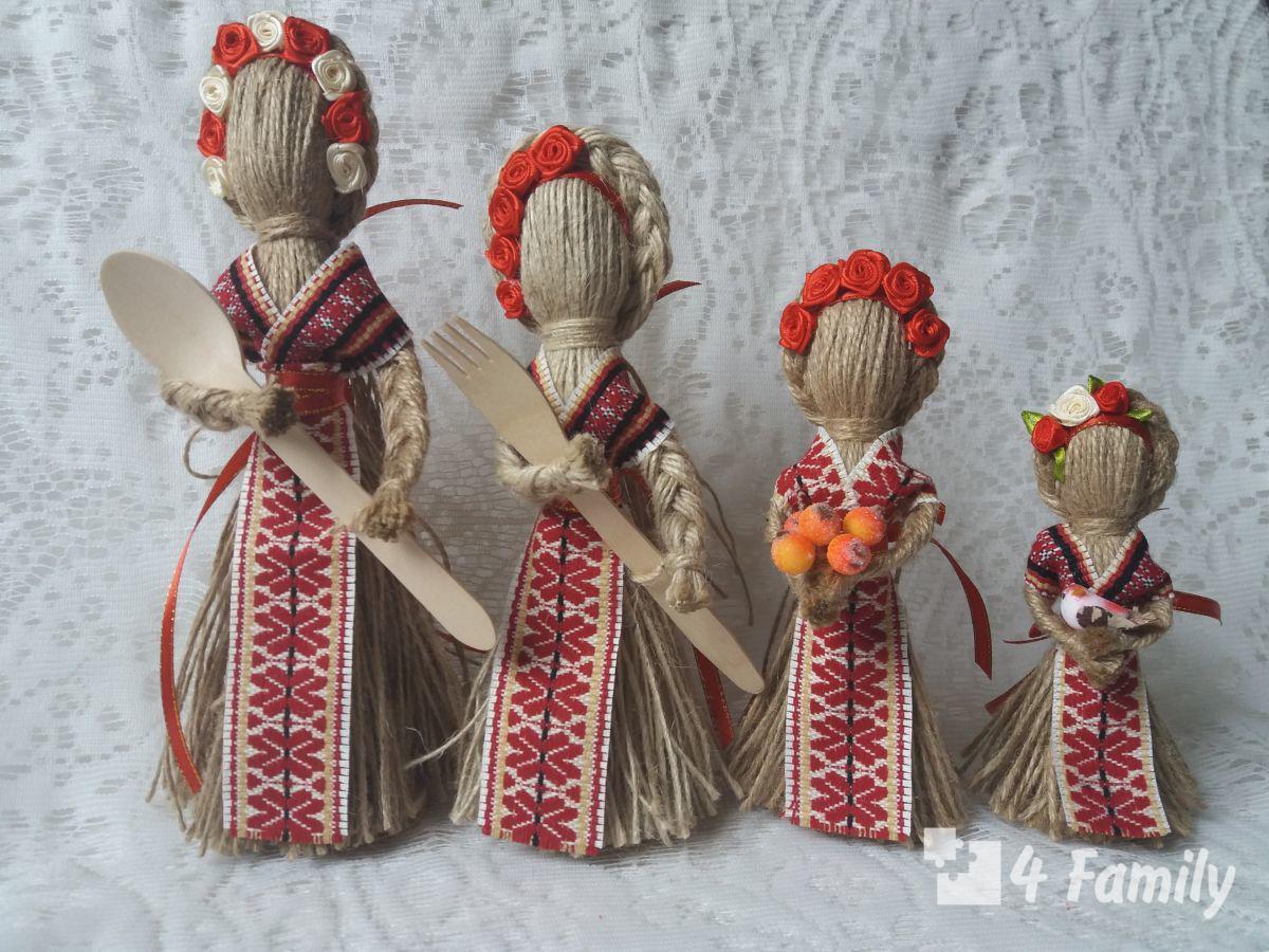 4family Как сделать куклу в домашних условиях