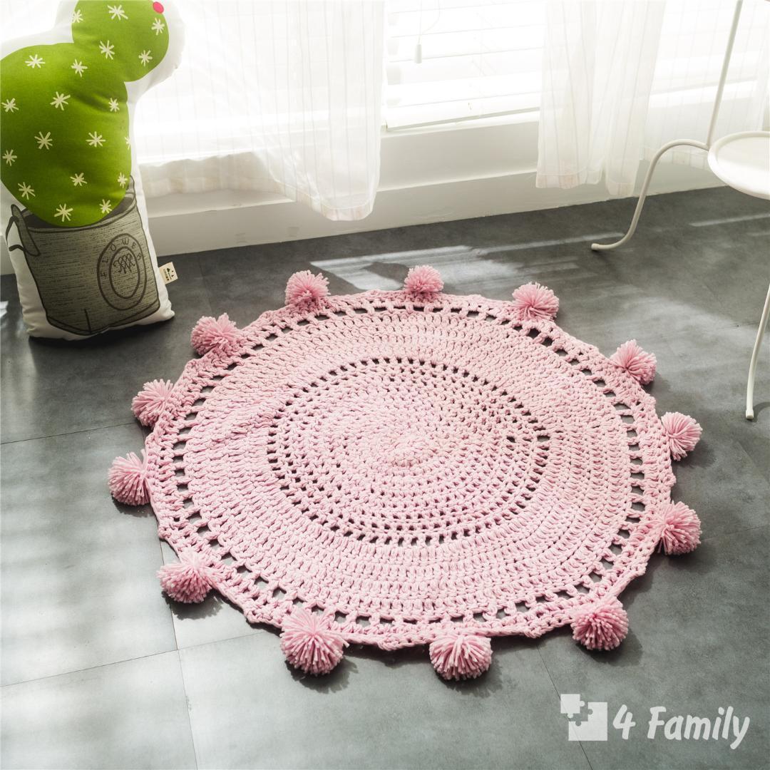 4family Как сделать коврик в домашних условиях