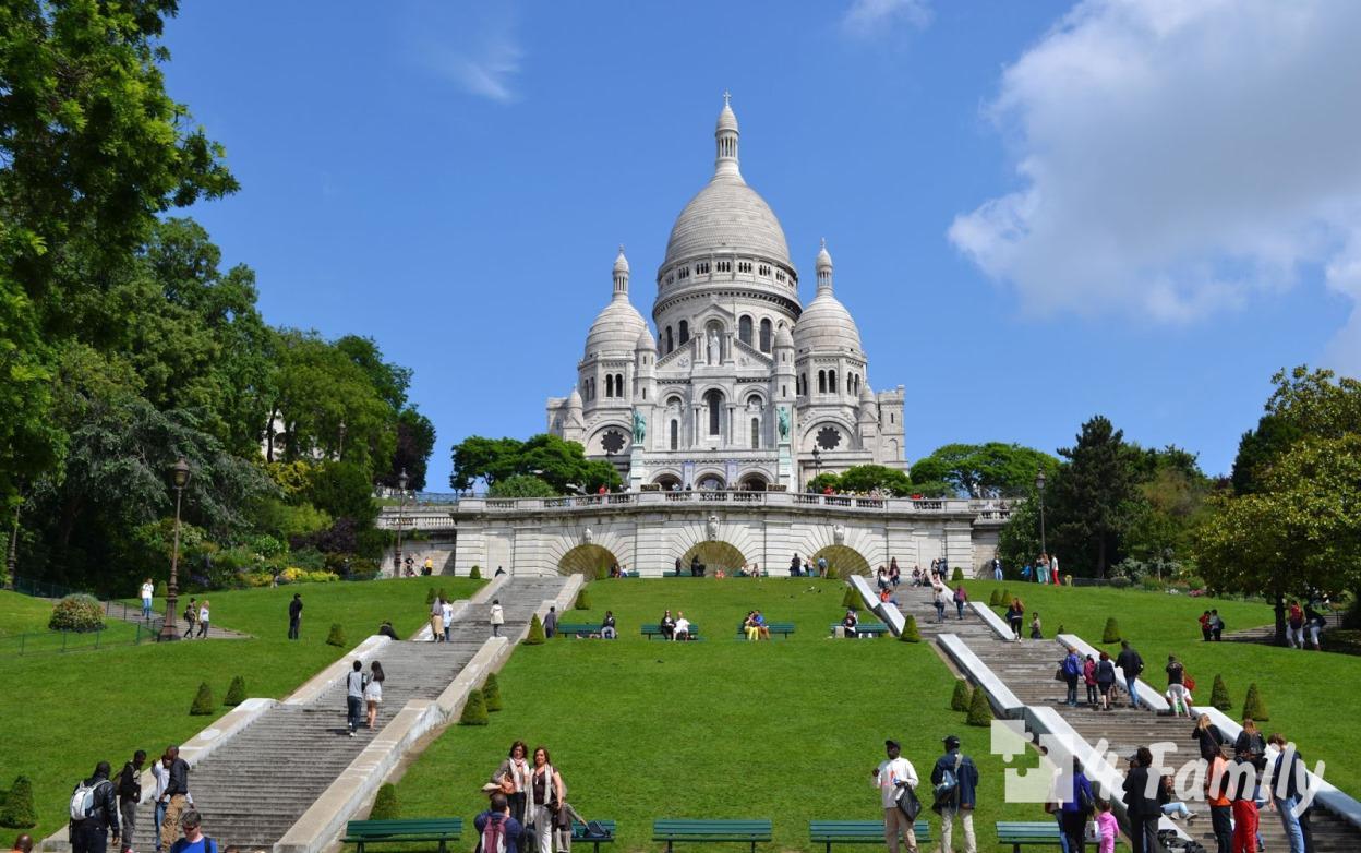 4family Сакре Кер – самый большой храм Парижа
