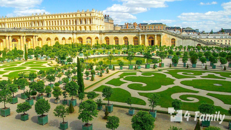 4family Версаль в Париже