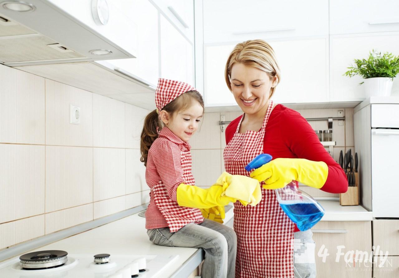 4family Как и чем отмывать кухонные шкафы