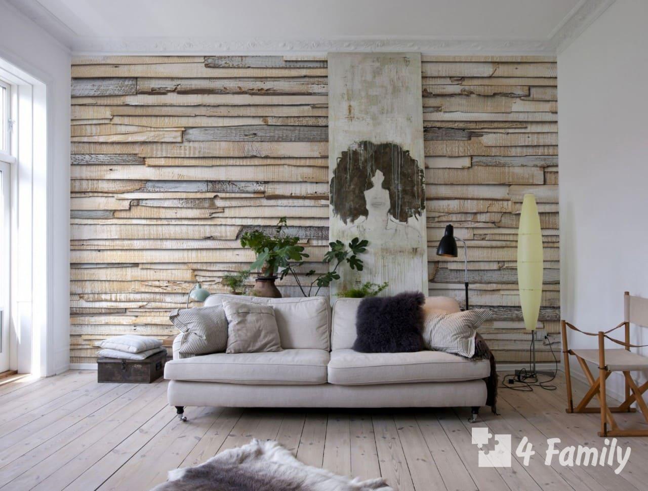 Cтильные идеи для оформления пустой стены