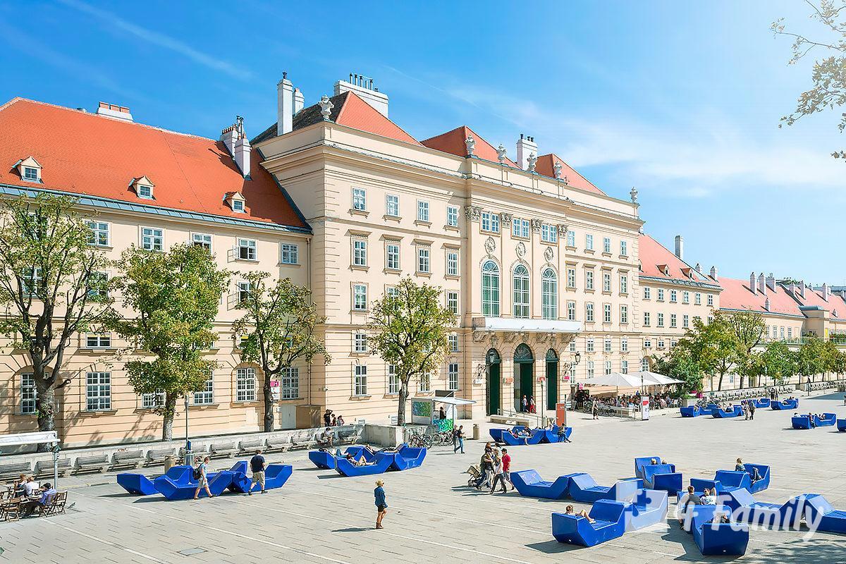 Музейный квартал в Вене