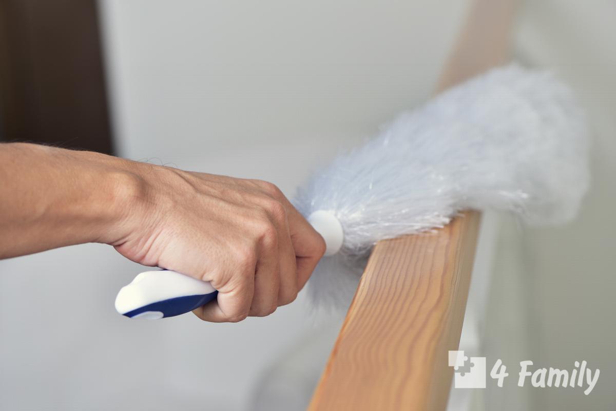 4family Как правильно вытирать пыль