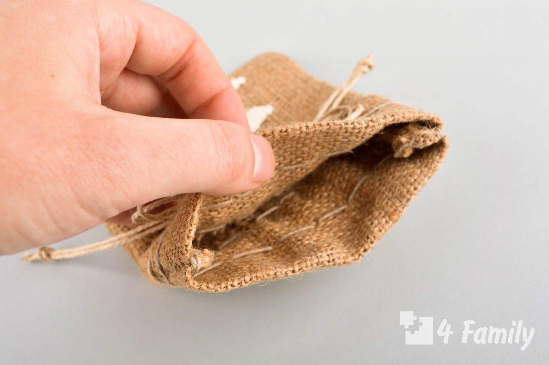 4family Как сшить декоративный мешочек для дома