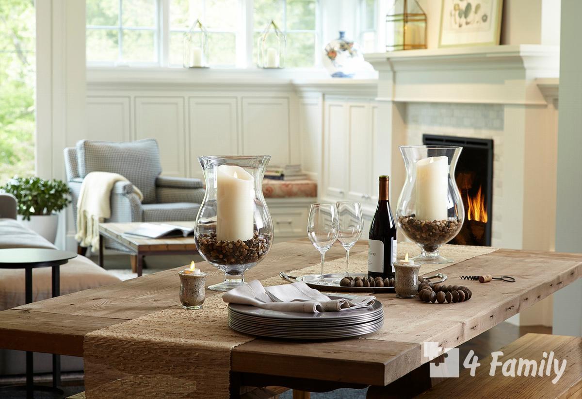 Как украсить свечами интерьер дома или квартиры
