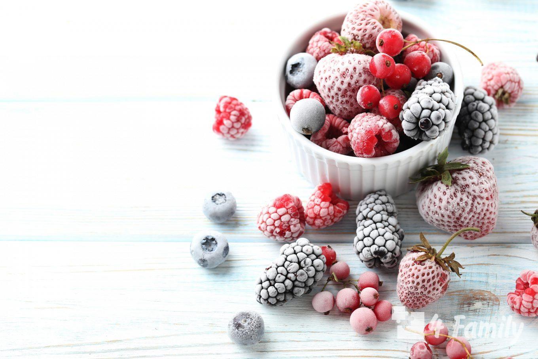 Как замораживать ягоды, свежие овощи и зелень