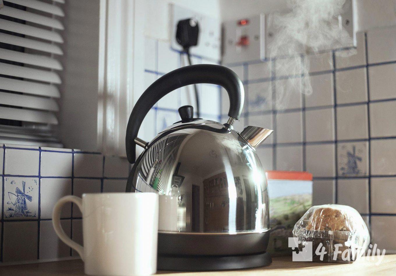 Как убрать налет с чайника