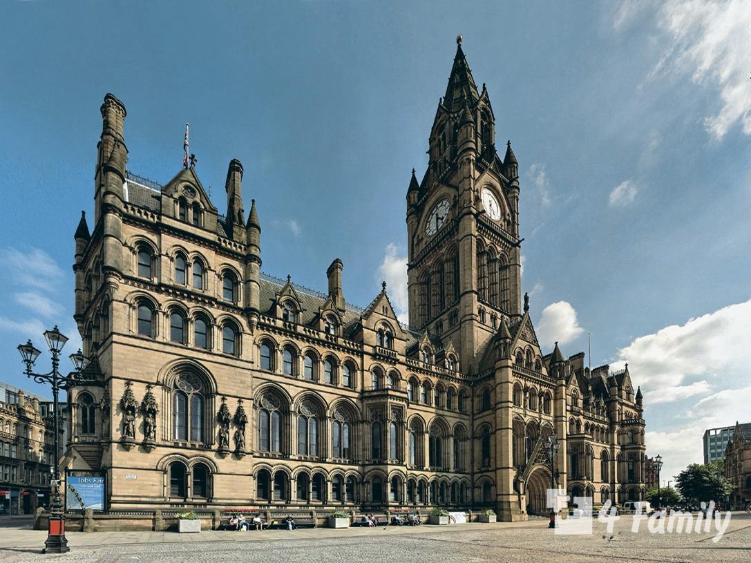 Ратуша в Манчестере – великолепное архитектурное творение старой Великобритании.