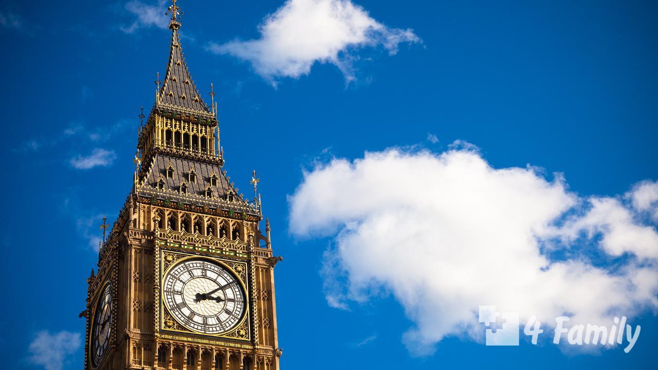 4family Часы Биг-Бен в Лондоне