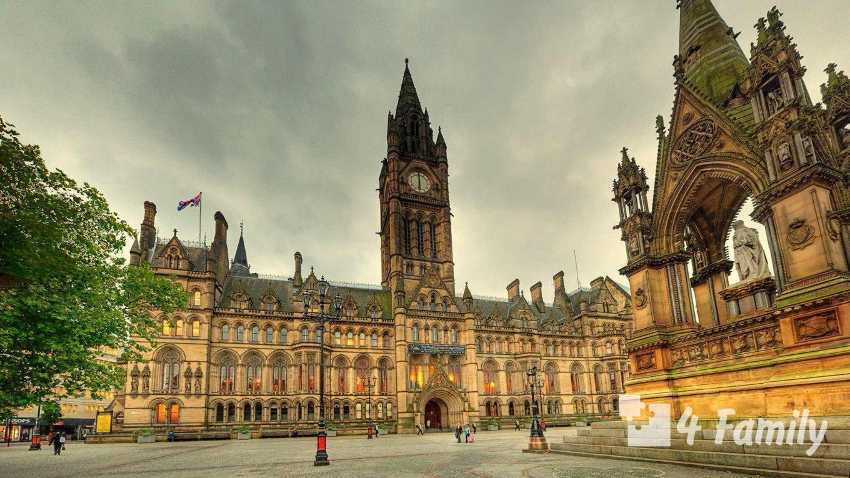 4family Ратуша в Манчестере – великолепное архитектурное творение старой Великобритании.