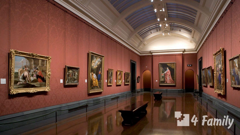 4family Национальная галерея в Лондоне