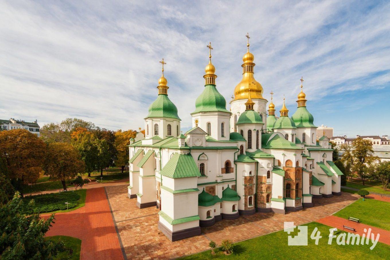 4family Софийский собор в Киеве