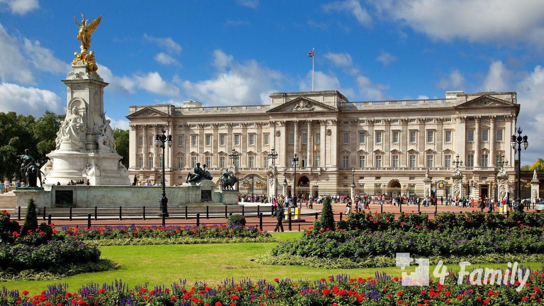 4family Букингемский дворец в Лондоне