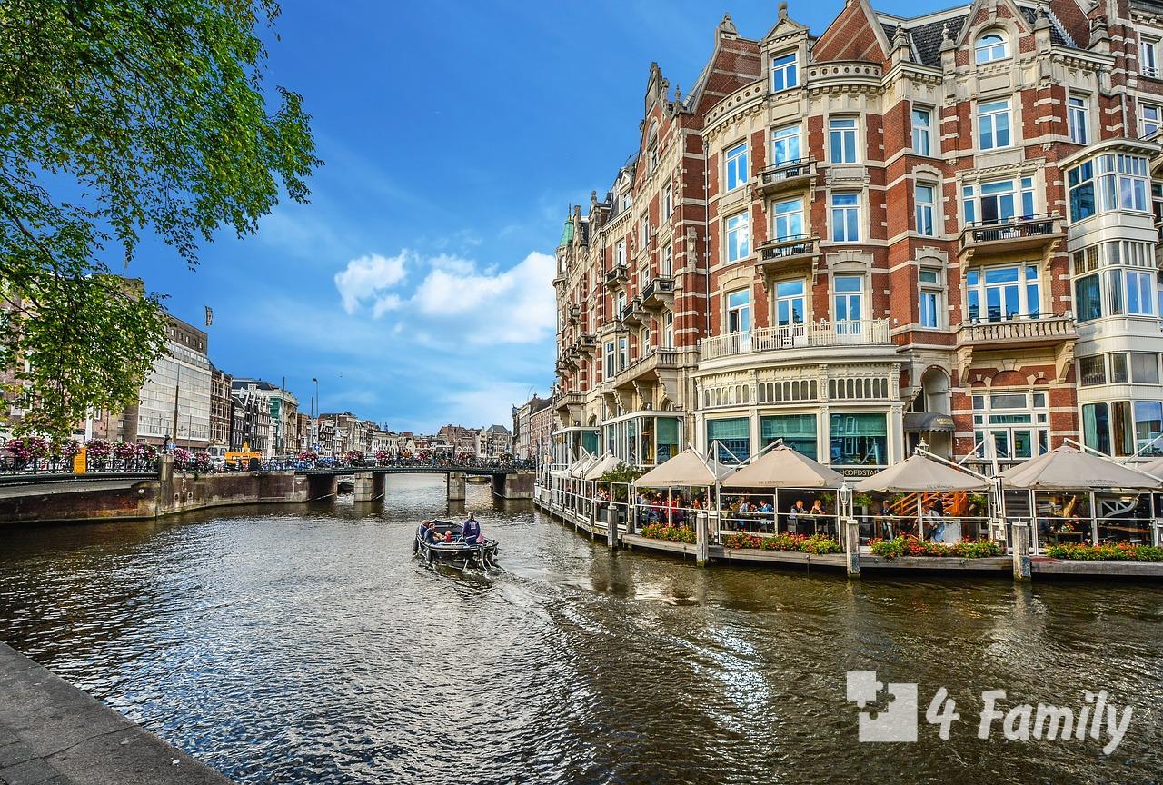 4family Что посмотреть в Амстердаме за 1 день