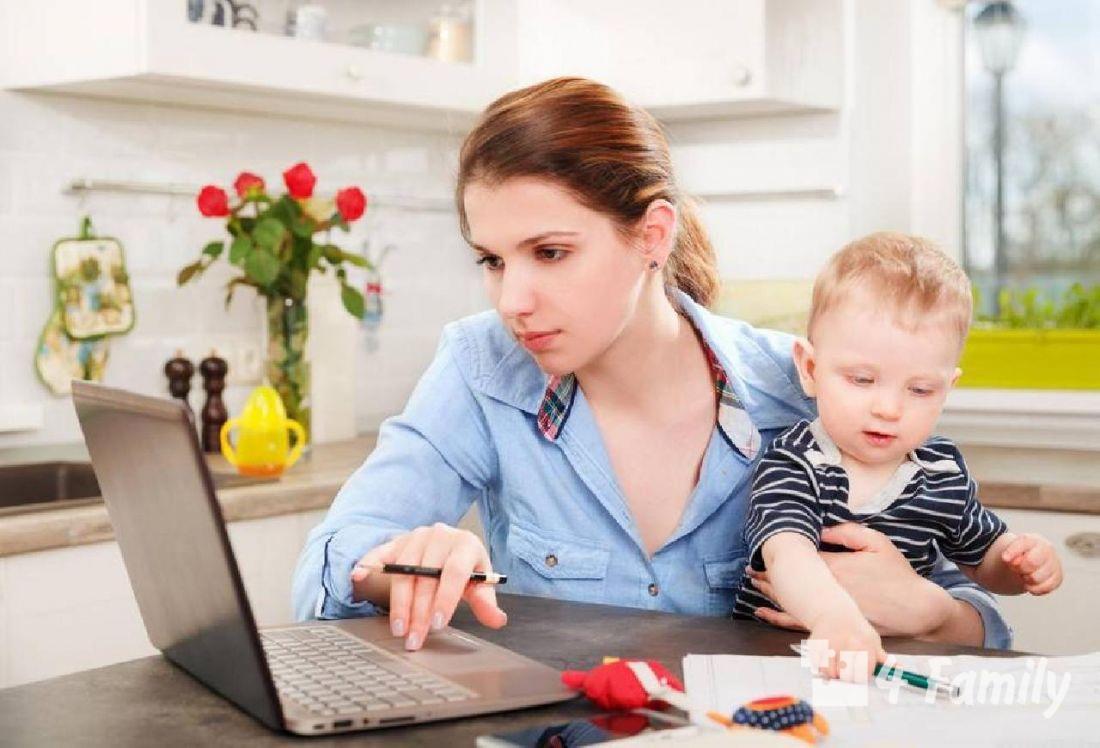 4family Чем заняться маме в декрете