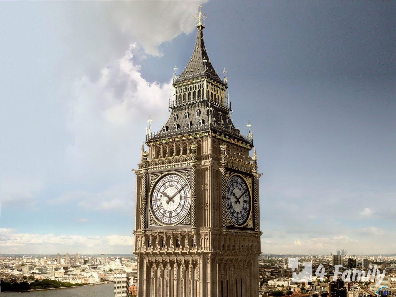Часы Биг-Бен в Лондоне